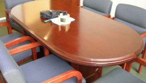 Finished Conference Table
