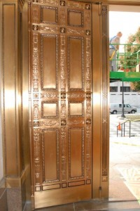 Hartford City Hall Door After